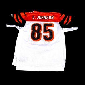 Vintage reebok Cincinnati Bengals Johnson jersey